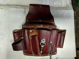 occidental leather electricians tool belt suspenders