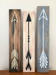 Hand painted arrows on old scrap wood!!!   Random Woodworking ...