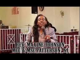 Pastor Appreciation 2015 - Rev. Maxine Johnson - YouTube