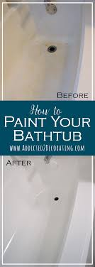 Blue Bathtub how to paint a bathtub and tub surround 8574 by xevi.us