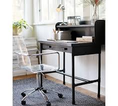 paige acrylic desk chair pottery barn acrylic office chair