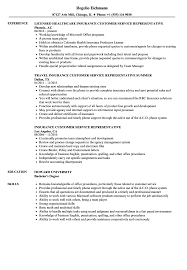 Customers Service Job Description Insurance Customer Service Representative Resume Samples