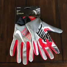 Nike Nfl Stadium Gloves Size Chart Nwt Nike Ohio State Buckeyes Stadium Gloves L Osu Nwt