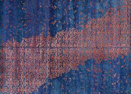 blue rug texture. Luxe Landing Blue (Rug 18) Rug Texture