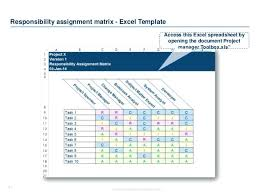 raci chart excel responsibility matrix excel project management raci matrix excel