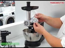 <b>Electrolux EKM3700</b> fémtálas mixer Márkabolt - YouTube