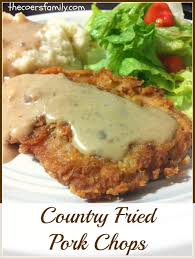 Deep South Dish Country Style Pork Chops In GravyCountry Style Pork Chop Recipe