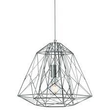 cage lighting. Geometric Cage Light (chrome) Lighting