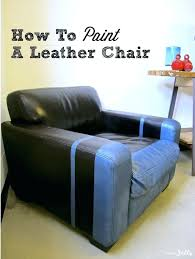 how to paint a leather couch chalk ling how to paint leather