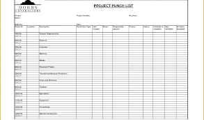Scope Of Work Template Excel Construction Sample Free