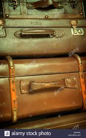 Old Suitcases Pile Of Old Suitcases Stock Photo Royalty Free Image 136839062