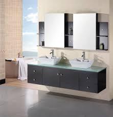 wall mounted double vanity. Exellent Mounted Design Element Portland 72u2033 Double Sink U2013 Wall Mount Vanity Set In Espresso Intended Mounted A
