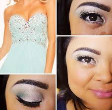 makeup could be bright and shiny like the one in picture your options are endless just