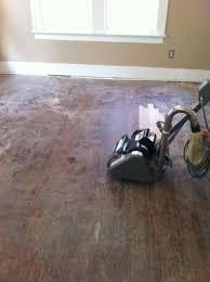 Sanding New Hardwood Floors Sanding Wood Floor A Girl Can Do It