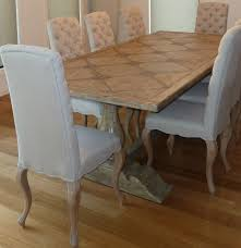 high back dining chairs melbourne. pedestal dining table white wash finish and diamond buttoned highback chairs - timeless interior designer high back melbourne h