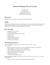fast food restaurant manager resume resume fast food restaurant manager resume