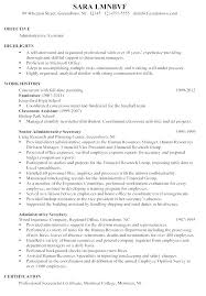 Sample Resume Chronological Format Chronological Order Resumes ...
