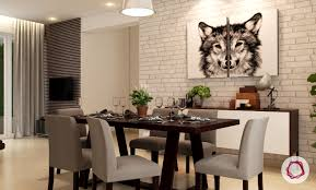 simple dining room table. dining room decorating idea #2: wall art simple table a