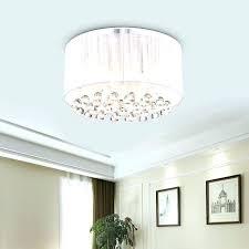 flush crystal chandelier mount drum chandelier luxury drum 4 lights flush mounted crystal ceiling lamp modern flush crystal chandelier light