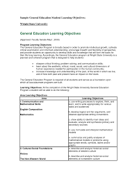 Resume Templates General Objective Samplesement For Labor Resumes