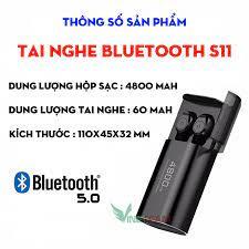 Tai nghe Bluetooth 5.0 TWS S11 Chống Nước, Pin Dự Phòng 4800mah