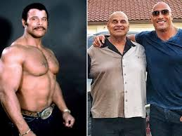PHOTOS: The Rock Loses His Dad Who Was Also A WWE Wrestler ...