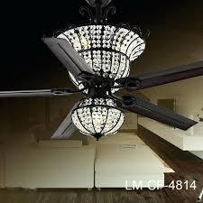 chandelier ceiling fan crystal light kits