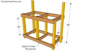 10 Potting Bench Ideas With Free Building Plans  Tuesday Ten Plans For A Potting Bench