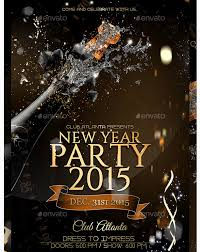 new year s template new years eve flyer template party flyer templates for