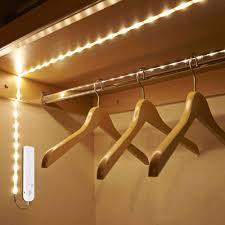 closet lighting track lighting. Wireless Motion Sensor Led Strip Lamp 1m 2m 3m Usb Use In Tv Under Bed Cabinet Closet Wardrobe Stairs Door Night Light Strips Lights Flexible Lighting Track