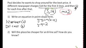 linear equation card match slope intercept form equation word 881072