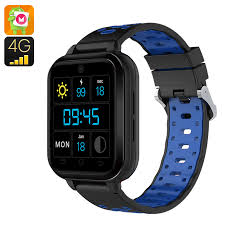 Finow Q1 Pro Android 4G Smart Watch (Blue) Wholesale From China