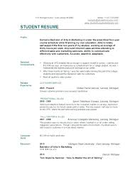 Resume Creator For Students College Resumes Examples Resume Examples