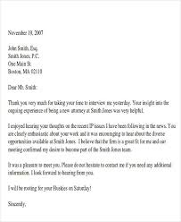 Thank You Letter For Group Interview Sample Cover Letter