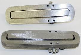 door handle set exterior bar style in bare metal kindig it design photo