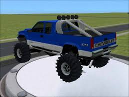 All Chevy 96 chevy extended cab : Sims 2 Car Conversion by VoVillia Corp. - 1996 Chevrolet Silverado ...