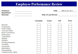 Restaurant Employee Performance Evaluation Form Job Performance Appraisal Template Employee Forms Naveshop Co