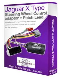 jaguar x type cd radio stereo wiring harness adapter amazon co uk jaguar x type car stereo adapter connect your steering wheel stalk controls