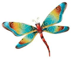 regal art and gift home and garden decor regal art gift dragonfly wall decor blue continue