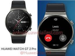 Huawei Watch GT 2 Pro leak reveals its design and features - Gizmochina