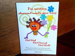 Get Well Card Card Get Well Get Well Soon Card Etsy
