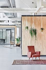 informal green wall indoors. Among The Meeting Rooms, Pieces Of Reused Furniture Are Set As Informal Living With A More Domestic Scale, While Series Plants Hung From Green Wall Indoors
