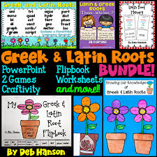 Latin Roots Chart Greek And Latin Roots Anchor Chart Crafting Connections