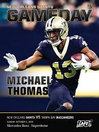 New Orleans Saints Gameday New Orleans Saints Vs Tampa Bay