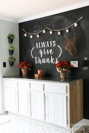 LOVE THIS fall chalkboard art and fall decor from Designer Trapped in a  Lawyer's Body!