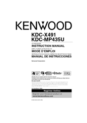 kenwood kdc mpu manuals