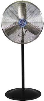 qmark mach 30 heavy duty industrial air circulator pedestal fan