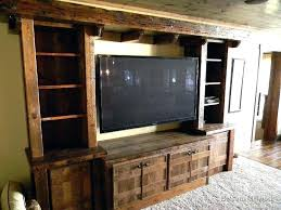 Rustic Entertainment Center With Fireplace Fashionable Centers For Flat  Screen28