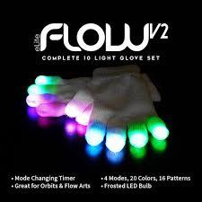 Emazing Lights Canada Elite Flow V2 Light Up Led Gloves Emazinglights