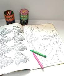 a coloring book drawings by andy warhol plus coloring book a coloring book drawings by andy